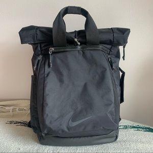 Nike Vapor Energy roll-top backpack black gym bag